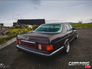 Mercedes-Benz 280SE W126 on Air
