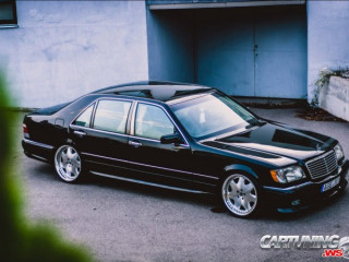 Mercedes-Benz S500 W140 on Air