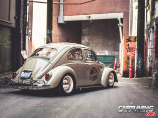 Lowered Volkswagen Beetle