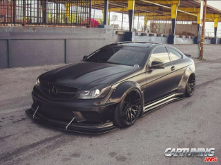 Tuning Mercedes-Benz C63 AMG Coupe W204