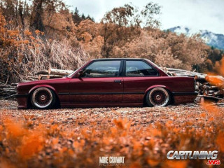 BMW 3 Coupe E30 Airlift