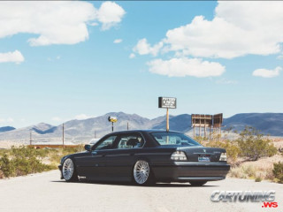 BMW 740iL E38 Airlift