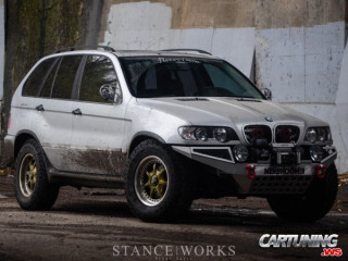 Lifted BMW X5 E53