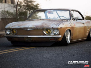 Hot rod Chevrolet Corvair