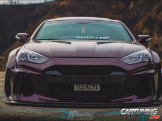 Hyundai Genesis Coupe widebody