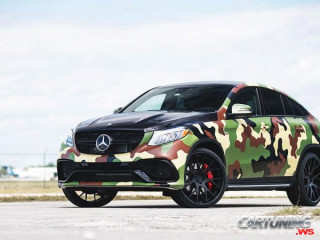 Tuning Mercedes-Benz GLE43 Coupe C292