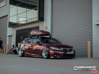 Stanced Lexus CT200h