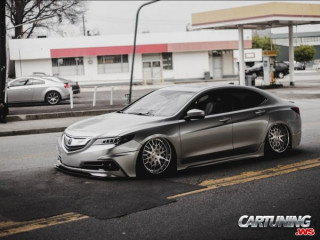 Stanced Acura TLX