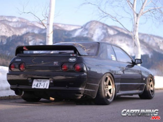 Lowered Nissan Skyline GT-R R32
