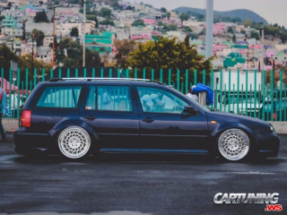 Volkswagen Golf Variant Mk4 on Air