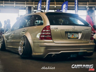 Mercedes-Benz C230 T203 Hellaflush