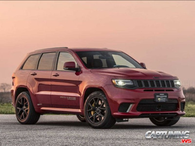 Jeep Grand Cherokee Trackhawk by Hennessey