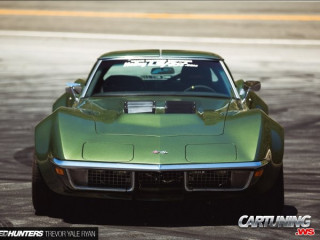 Stanced C6 Corvette