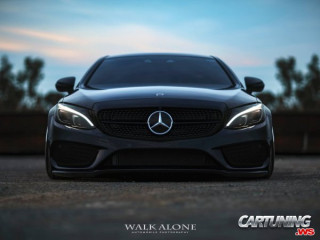 Mercedes-Benz C43 AMG Coupe C205 on Air