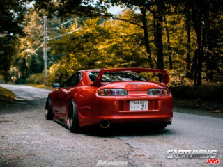 Grounded Toyota Supra