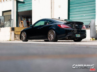 Modified Hyundai Genesis Coupe