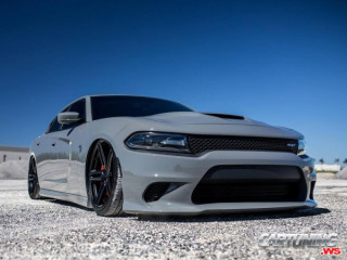 Dodge Charger Hellcat on Air