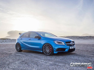 Mercedes-Benz A45 AMG W176 on Air