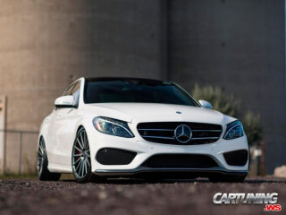 Mercedes-Benz C250 W205 on Air