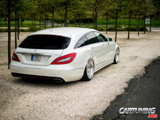 Mercedes-Benz CLS 350 Shooting Break X218 on Air