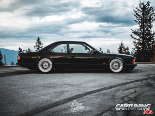 BMW 635CSi E24 Airlift