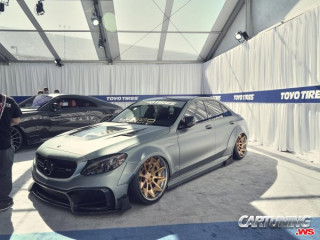 Mercedes-Benz C63 AMG W205 Widebody on Air