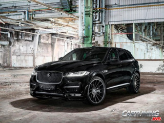 Tuning Jaguar F-Pace by Hamann