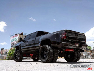 Modified Chevrolet Silverado