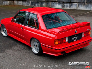 Modified BMW M3 E30