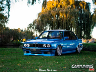 Stance BMW 325i Coupe E30