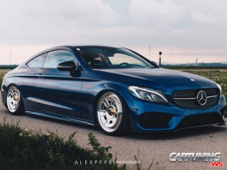 Stance Mercedes-Benz C43 AMG Coupe C205