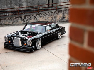 Tuning Mercedes-Benz W109, turbo, roof lowering