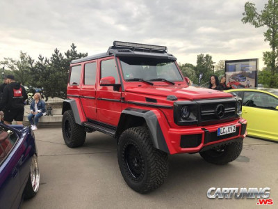 Tuning Mercedes-Benz G500 4x4 W463