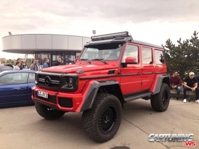 Modified Mercedes-Benz G500 4x4 W463 2018