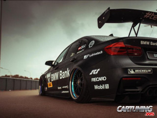 BMW M3 F80 racing car