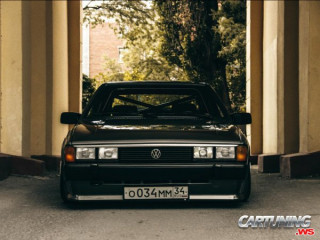 Volkswagen Scirocco Mk2 on Air
