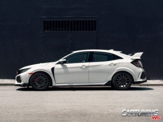 Lowered Honda Civic Type R 2018 FK8