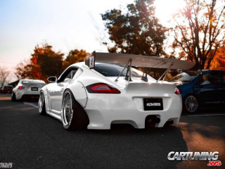 Porsche Cayman Widebody