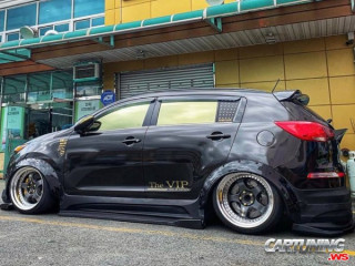 Widebody Kia Sportage Airlift