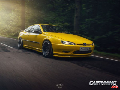 Tuning Peugeot 406 Coupe
