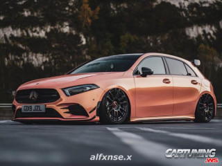 Mercedes-Benz A35 AMG W177 on Air