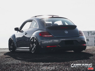 Lowered Volkswagen New Beetle