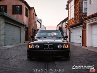 Track car BMW 540i E34 in Alpina B10 style
