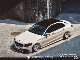 Mercedes-Benz C300 W205 Airlift