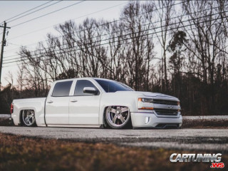 Dropped Chevrolet Silverado 2018