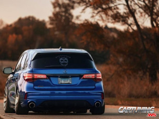 Lowered Acura MDX