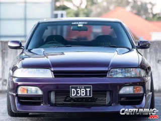 Tuning Nissan Skyline R33 sedan