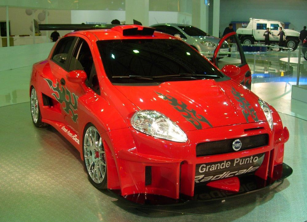 Tuning Fiat Grande Punto 187 Cartuning Best Car Tuning