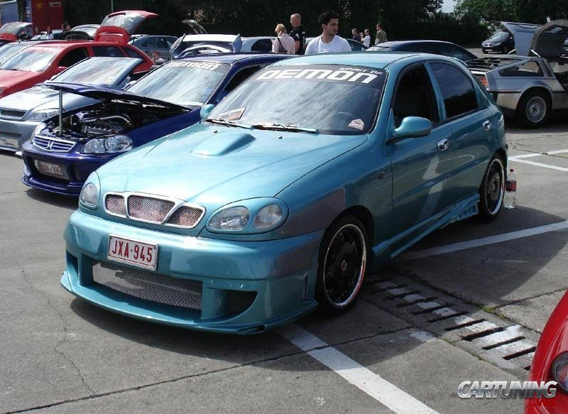 Tuning Daewoo Lanos » CarTuning - Best Car Tuning Photos From All