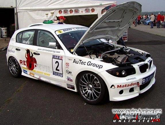 Bmw 1 Race Car Cartuning Best Car Tuning Photos From All The World